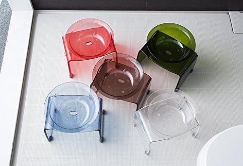 Favor【フェイヴァ】アクリル製お風呂いす<M>サイズ&お風呂ボウル2点セット(ディープグリーン)…