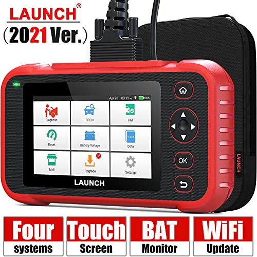 [2021 Elite] LAUNCH Code Reader-OBD2 Scanner Check Engine ABS SRS Transmission Scanner with Battery...