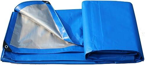 Bache De Prougeection Imperméable, Oeillets en Métal Et Bache en Plastique Imperméable - Abri d'urgence, Abri Extérieur Et Utilisation du Camping ZHANGQIANG (Couleur   A, Taille   3  5m)