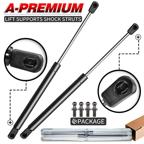 A-Premium Gas Charged Front Hood Lift Support Struts for Acura CL 2001 2002 2003 TL 1999 2000 2001 2-PC Set