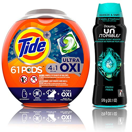 Up to 30% off Tide, Cascade, and Downy Household items for Prime Members