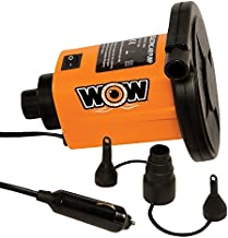WOW World of Watersports, 13-4020, 12 Volt DC High Output Air Pump, 3 Universal Adapters