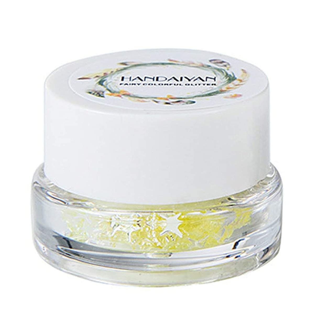 輝度潤滑する実行シャイニーハイグロスアイシャドー明るいスパンコールジェルアイメイク化粧品