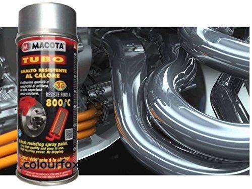 Macota - Spray anticalore 800ºC, colore: argento