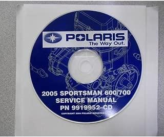 2005 POLARIS SPORTSMAN 600/700 Service Repair Shop Manual CD FACTORY OEM 05