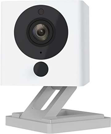 Wyze Cam 1080p HD Indoor Wireless Smart Home Camera with Night Vision, 2-Way Audio, Person Detection, Works with Alexa & the Google Assistant (Pack of 2)