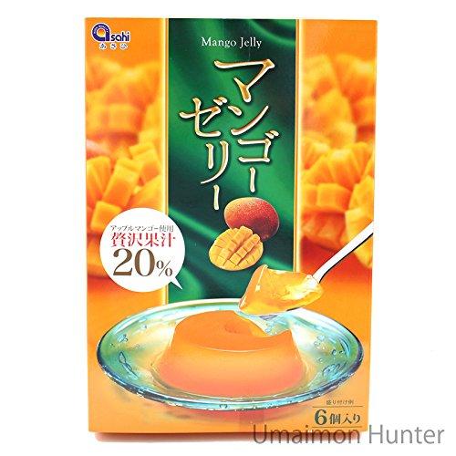 マンゴーゼリー 70g×6個入り×1箱 あさひ アップルマンゴー使用 贅沢果汁20% みずみずしくて味わい深いフルーツゼリー