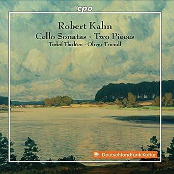 Kahn: Works for Cello & Piano