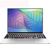 【MS Office 2019/Win 10 Pro搭載】狭額縁15.6インチ超薄軽量HD大画面高性能ノートパソコン高速静音Celeron J4115 (1.8 GHz)/DDR4メモリー8G/256GB SSD/ 無線WIFI/USB 3.0/MiniHDMI/Bluetooth/有線LAN/大容量バッテリー採用充電式無線マウス付き (8G+256GB SSD, シルバー)