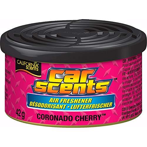 California Scents E301412100 Ambientador de Coche Olor Piruleta de Cereza