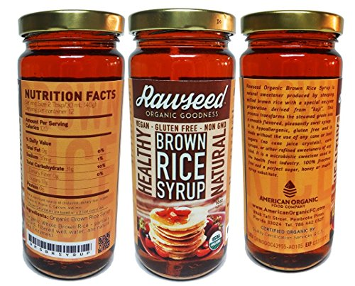 Rawseed Organic Brown Rice Syrup (3 Pack)