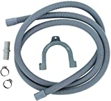 ABC Products Drain Hose Extension Pipe Kit 2.5m / 8 Ft Long For Washing Machine Washer Dryer Dishwasher