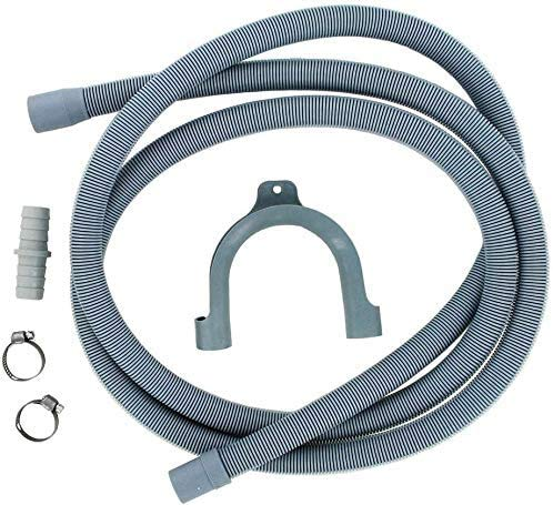 ABC Products Drain Hose Extension Pipe Kit 2.5m / 8 Ft Long For Washing...