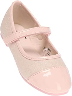 Life by Shoppers Stop Girls Casual Wear Velcro Closure Ballerinas (Pink_25)