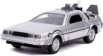 Delorean Time Machine, Back to The Future II - Jada 31777-MJ - 1/32 Scale Diecast Model Toy Car but NO Box