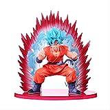 MDCGOKFIGURE Dragon Ball Z Son Goku 19cm Modelo de Juguete Super Saiyan Den Kaioken Coleccionable Mo...