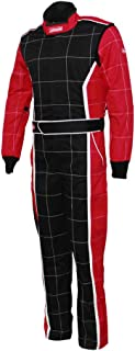 jxhracing RB-C038 SFI 3.2a/1 One Layer Cotton Fire Protection Auto Driving Racing Suit-Large