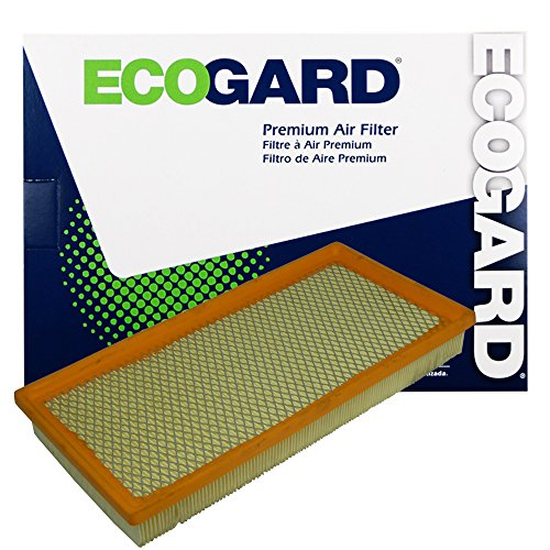 ECOGARD XA4372 Premium Engine Air Filter Fits Dodge Ram 1500 5.2L 1994-2001, Ram 1500 5.9L 1994-2001, Dakota 4.7L 2000-2010, Dakota 3.9L 1997-2003, Durango 4.7L 2000-2003, Dakota 3.7L 2004-2010