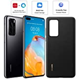 HUAWEI P40 128 GB 6.1 Inch Smartphone Bundle with PU Case,...