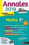 Annales ABC du Brevet 2019 Maths -...