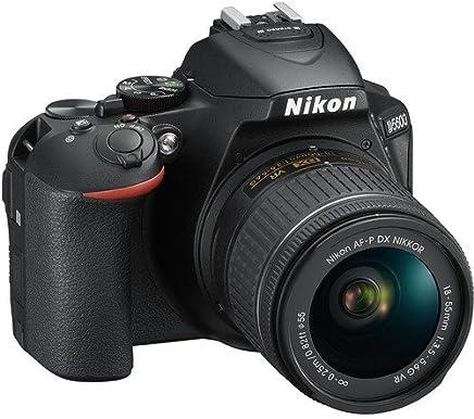 D5600 DX-Format Digital SLR w/AF-P DX NIKKOR 18-55mm f/3.5-5.6G VR