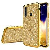 Robinsoni Cover Compatibile con Samsung Galaxy A9 2018 Custodia Sparkle Bling Galaxy A9 20...