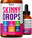 Skinny Drops - Weight Loss, Diet Supplement, Lose Appetite- Natural Fat Burner to Boost Metabolism - for Men and Women -14 Day