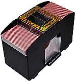 Automatic Playing Card Shuffler, 6 Decks of Cards Electric Battery Operated Shuffler for Poker Card Shuffler Machine Home Party Club Bridge Game Poker Games
