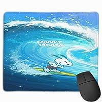 マウスパッド 小型 スヌーピー Snoopy マウスパッド ミニマウスパッド ミニサイズ 耐久性 滑り止め オフィス ゲーム かわいい 多機能 アニメ キャラクター グッズ 幅25×縦30cm