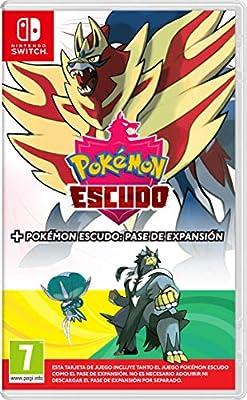 Pokémon Escudo + Pase de Expansión de Nintendo