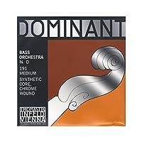 DOMINANT ドミナント コントラバス弦 D線 シンセティックコア 3/4 クロム巻 191