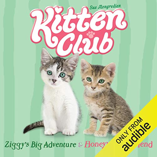 Kitten Club: Ziggy's Big Adventure & Honey's New Friend audiobook cover art