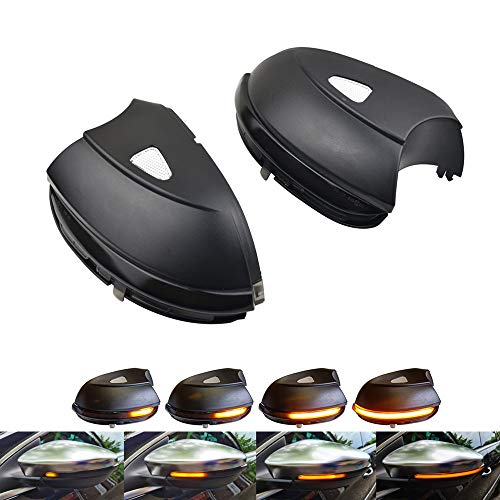 Links Rechts Spiegelblinker Dynamische LED Blinkerleuchten Blinker für Scirocco Passat B7 CC A5 Eos