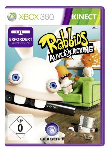 Ubisoft Raving Rabbids Alive & Kicking, Xbox 360, DEU - Juego (Xbox...