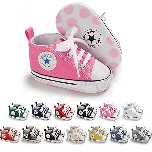 Baby Girls Canvas Shoes