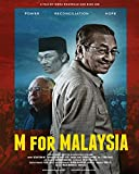 M for Malaysia - Poster cm. 30 x 40