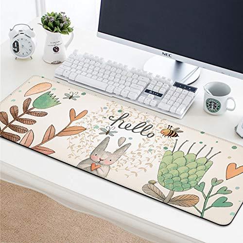 Tapis Souris|Mouse mats|Mouse mat| Tapis de Souris Bureau|Tapis de Souris antidérapant pour Ordinateurs et Ordinateur Portables tapis de souris corsair (rose clair)