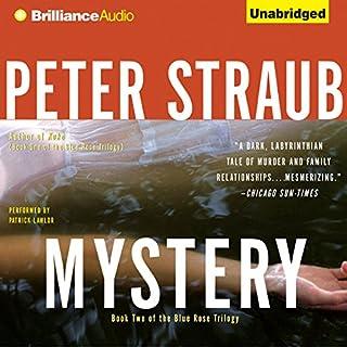 Mystery audiobook cover art