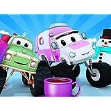雪だるまとカチコチの車!/スノーボードレスキュー隊/滝