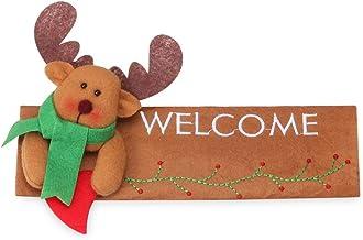 dressplus 24 guantes de 16 cm para manija de puerta, para frigorífico, Navidad, frigorífico, frigorífico, lavavajillas, puerta de Papá Noel, horno de microondas (Elk-derecho)