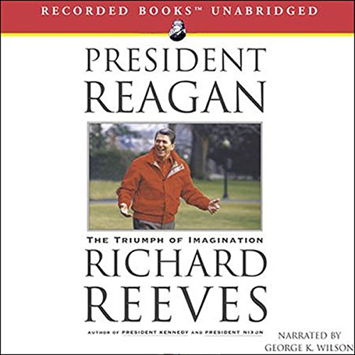 President Reagan audiobook cover art