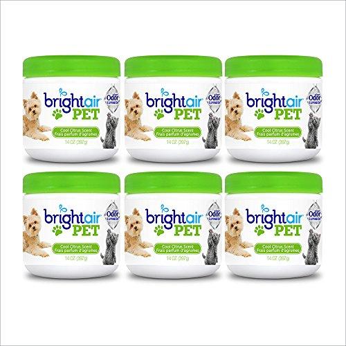 Bright Air Solid Pet Odor Eliminator, Cool Citrus...