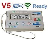 Compteur Geiger GQ GMC-320+V5numérique, enregistreur de données sans fil WiFi, dosimètre, détecteur de rayonnement