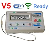 GQ GMC-320+V5Contatore Geiger digitale, registratore dati wireless WiFi, dosimetro rilevatore di...