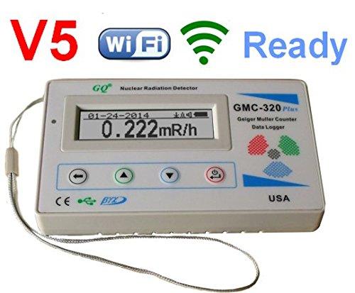 GQ GMC-320+V5 Digital Geiger Counter WiFi Wireless Data Logger Dosimeter Radiation Detector