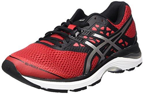 Asics Gel-Pulse 9, Zapatillas de Running para Hombre, Rojo (Classic Red/Silver/Black 2393), 44.5 EU