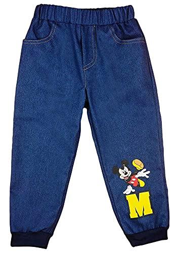 Baby Junge Jeans in größe 68 74 80 86 92 98 Baumwolle mit Mickey Mouse Disney Baby (Modell 1, 92)