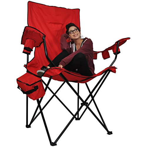Prime Time Outdoor Giant Kingpin Folding Chair.