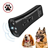 Zomma Handheld Dog Repellent & Trainer, Ultrasonic Infrared Dog Deterrent, Bark Stopper + Good Behavior Dog Training