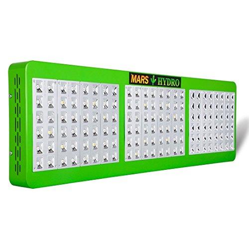 MARS HYDRO Reflector Serie Pflanzenlampe LED Grow Light mit 2 Schalter, leise, für Alle Gemüse, Blummen, hydroponischen Pflanzen oder Andere Zimmerpflanzen (Reflektor 720W LED Grow Lampe)